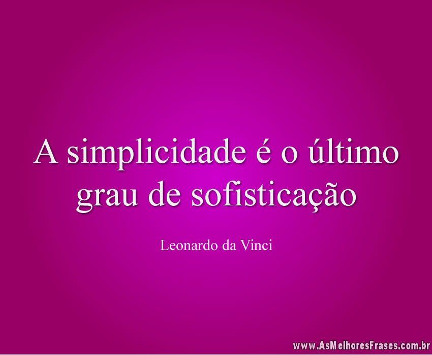 a-simplicidade