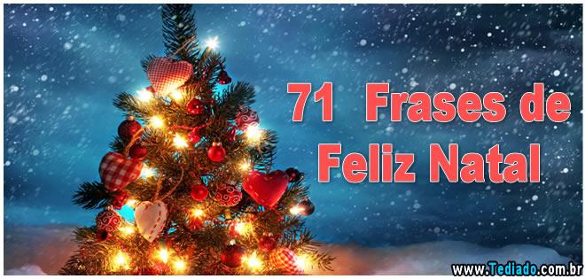 71 Frases De Feliz Natal