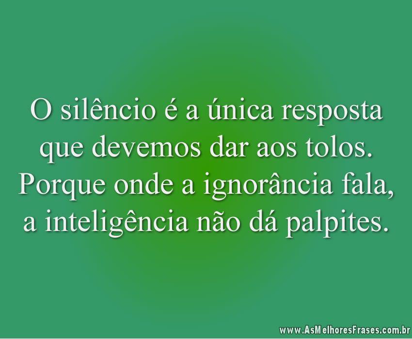 o-silencio-e-unica