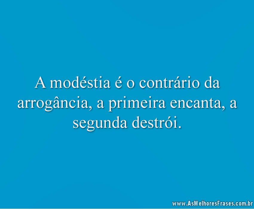 a-modestina-e-o