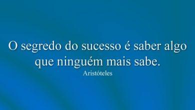 O segredo do sucesso é saber algo que ninguém mais sabe.