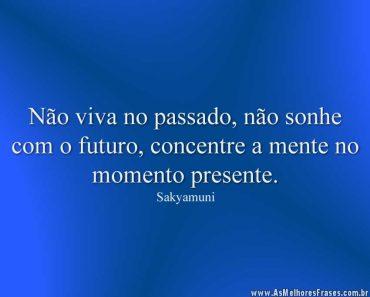 Não viva no passado, não sonhe
